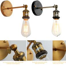 Brass, walllight, lampe, Home Decor