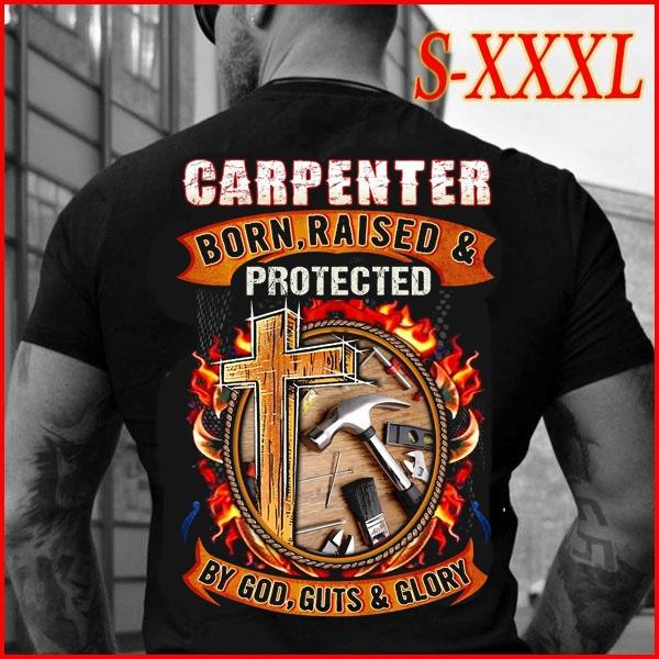 Fashion, professionshirt, godshirt, carpentertshirt
