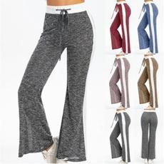 Ladies, Plus Size, sport pants, women long pants