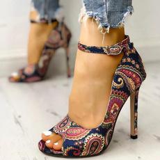 Summer, leatherheelshoe, shoes for womens, Womens Shoes