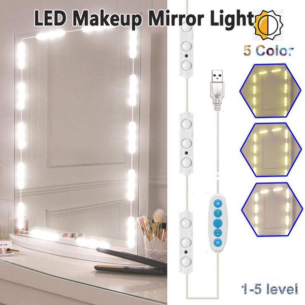Makeup Mirrors, led, usb, Beauty