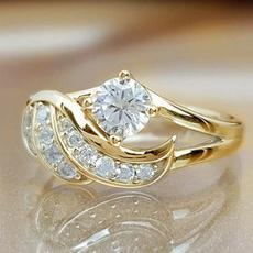 DIAMOND, Jewelry, gold, Silver Ring