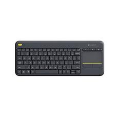 Logitech, black, wireless, Keyboards