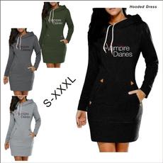 Plus Size, sweater dress, Sleeve, sweatershirtsamphoodie