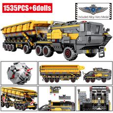 building, cargo, Toy, Vans