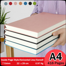 blankbook, sketchbook, horizontallinebook, Thickened