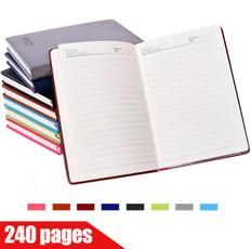 horizontallinebook, thickbook, notepad, PU Leather