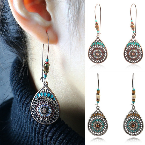 Antique, bohemia, Dangle Earring, Jewelry