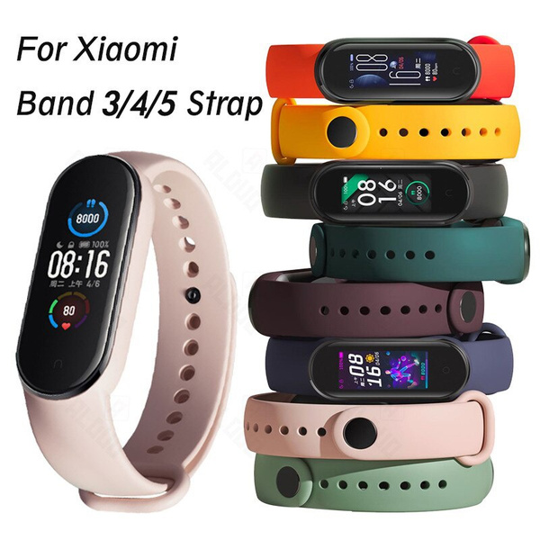 Bracelet, xiaomiband5strap, Wristbands, Silicone