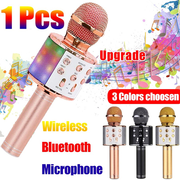 handheldmicrophone, bluetoothmicrophone, Microphone, Entertainment
