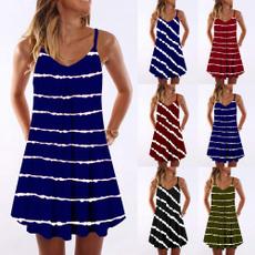 Summer, Fashion, pleated dress, Dress