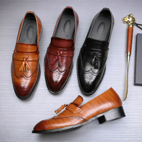 Flats & Oxfords, Fashion, leather shoes, moccasin