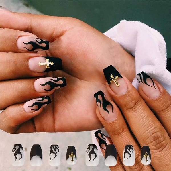 nail decoration, ballerina, manicure, Beauty