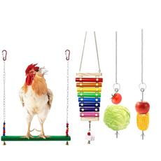 chickentoy, chickentoysforcoop, Toy, veggiesskewerfruitholder
