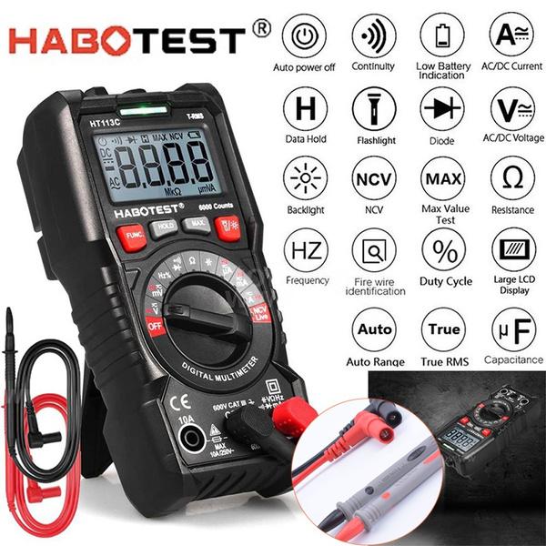 Flashlight, digitalmultimeter, digitalammeter, Multimeter