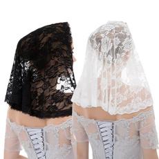 blackveil, catholic, churchveil, Lace