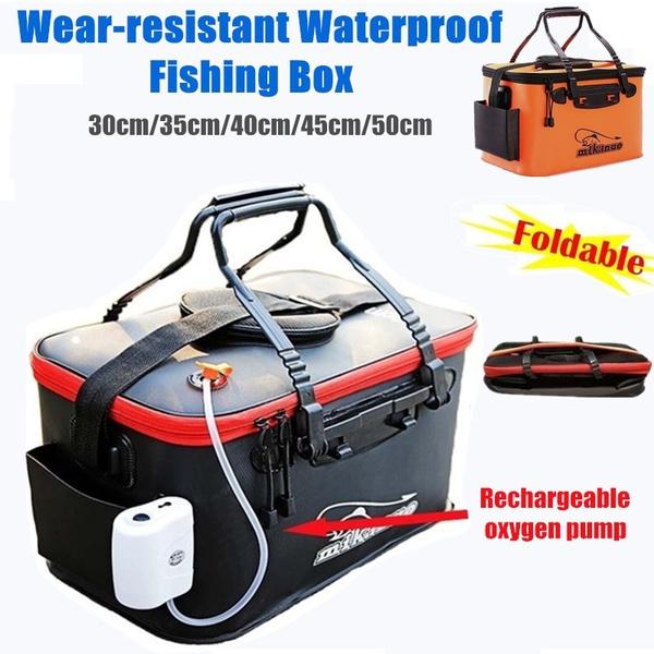 collapsiblefishingbucket, fishingtacklebag, Outdoor, tacklebox