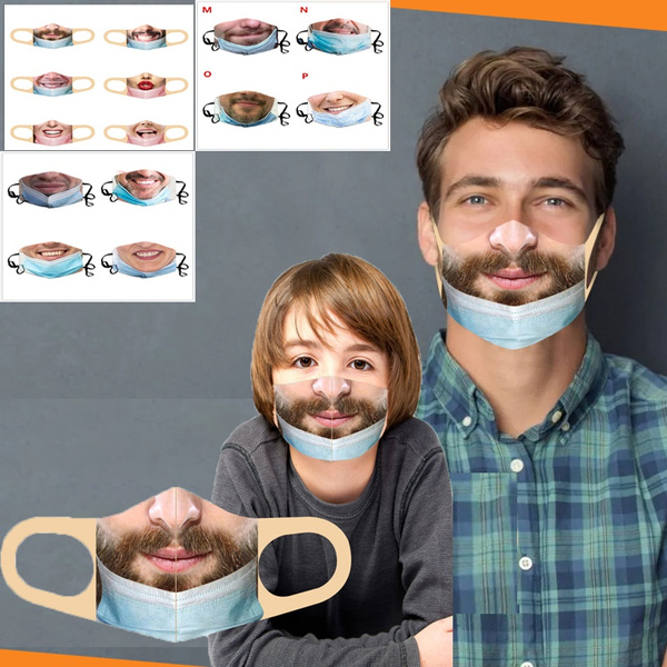 Funny, Fashion Accessory, Outdoor, mouthmask
