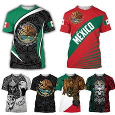 Fashion, mexican, Graphic T-Shirt, animal print