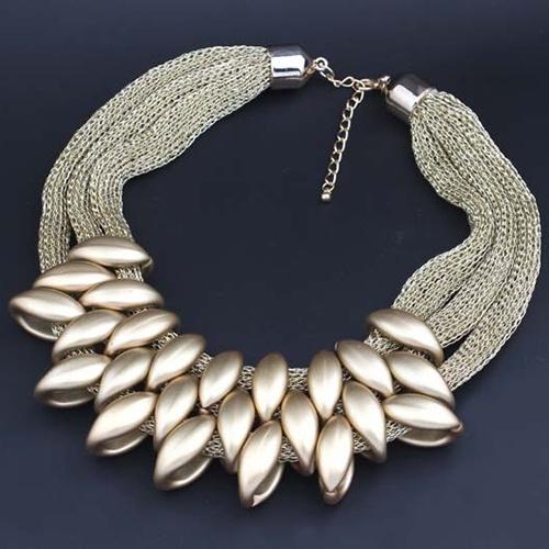 trendy necklace, braidednecklace, Jewelry, Ethnic Style