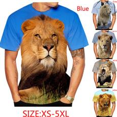 Summer, Shorts, Shirt, Mens T Shirt