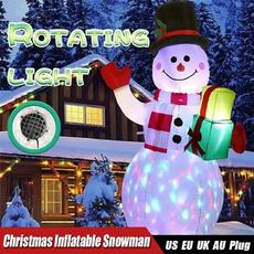 snowman, airblowninflatable, Outdoor, Garden