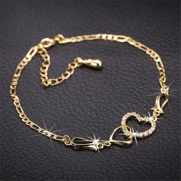 yellow gold, Heart, Fashion, Jewelry