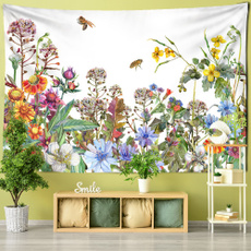 tropicalplant, Flowers, hippie, wallcloth