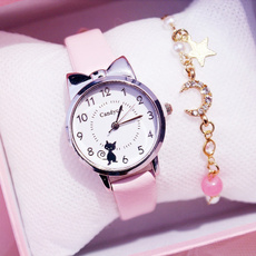 pink, Watches, quartz, Gifts
