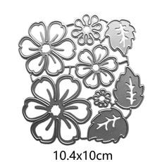 Flowers, metalcuttingdie, cuttingdiesstencil, Metal