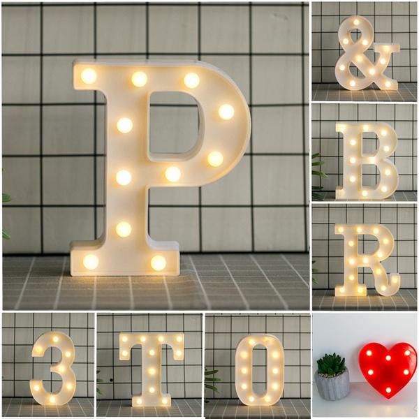 decoration, alphabetlight, led, Christmas
