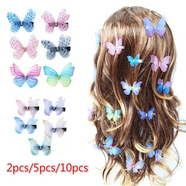 butterfly, Fashion, Jewelry, childrerhairgrip