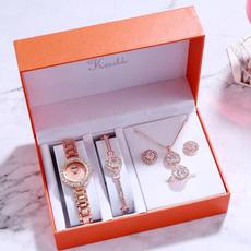 Moda, gold, Watch, Quartz Watches