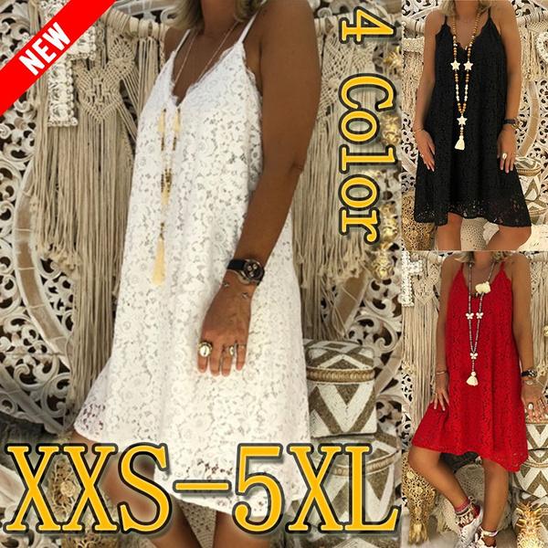 Sleeveless dress, Lace, Summer, Dress