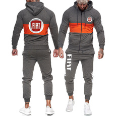 fiat, Set, Coats & Outerwear, Zipper Mens Hoodies