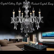 Decor, lights, Interior Design, pendantcrystallamp