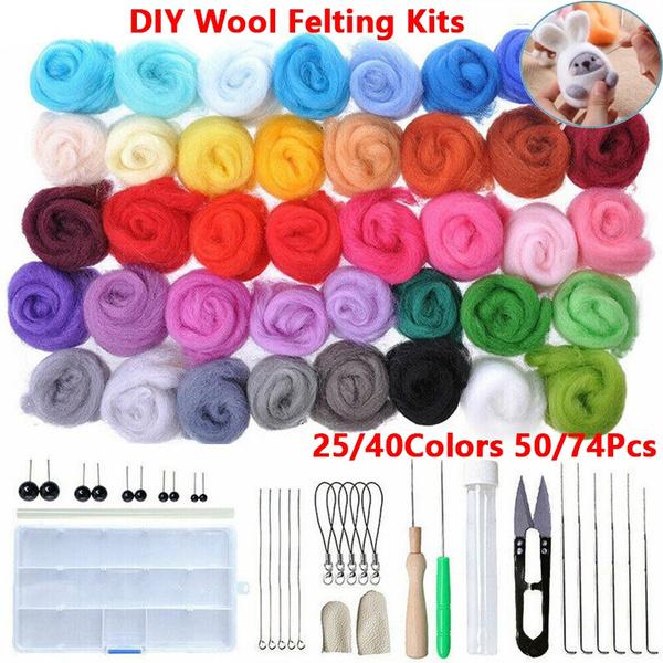 Craft, woolroving, Toy, feltingneedle