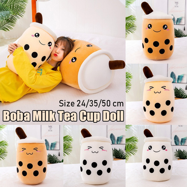 milkpillow, Stuffed Animals & Plush, plushbubbletoy, Cup