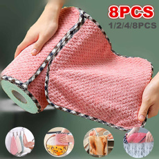 Kitchen & Dining, Towels, Coral, kitchencleaningtowel
