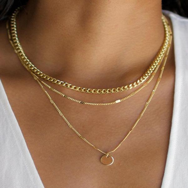 party, Chain Necklace, Fashion, halskette