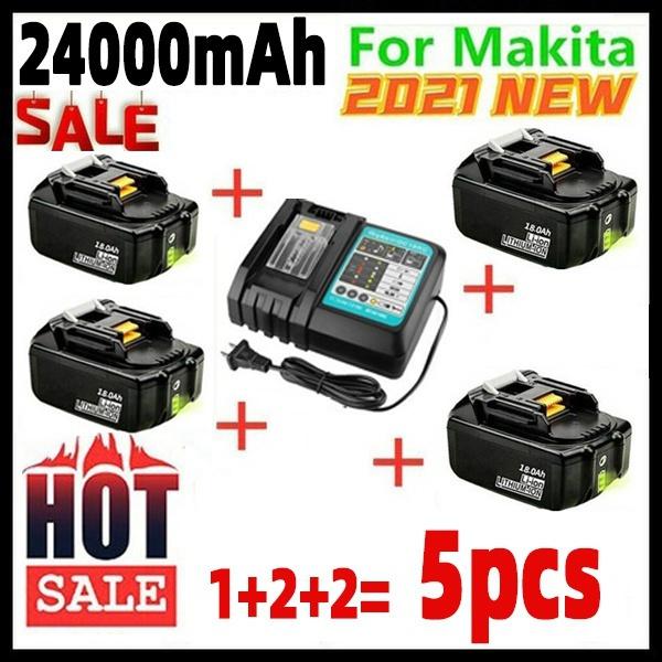 powertoolbatterie, makitabl1830battery, Battery, charger