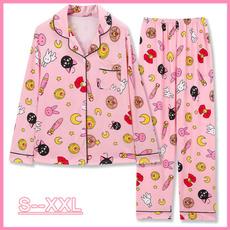 pink, pajamaset, Sleeve, women's pajamas