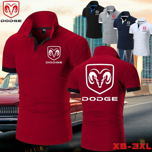 Dodge, Summer, short-sleeved shirt, Colorful