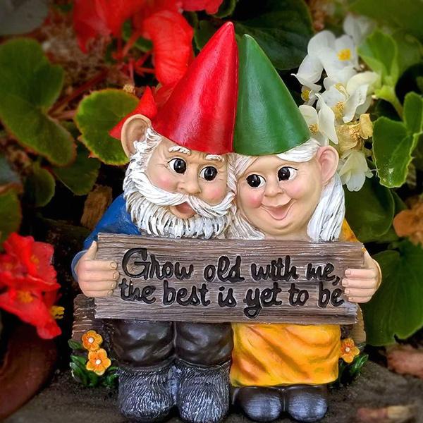 gnomedollfigurine, gardengnome, growoldwithme, gnome