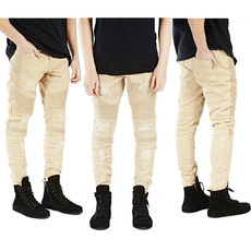 trousers, Elastic, pants, distressed