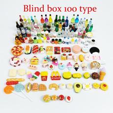 Box, cute, breakfastplate, doll