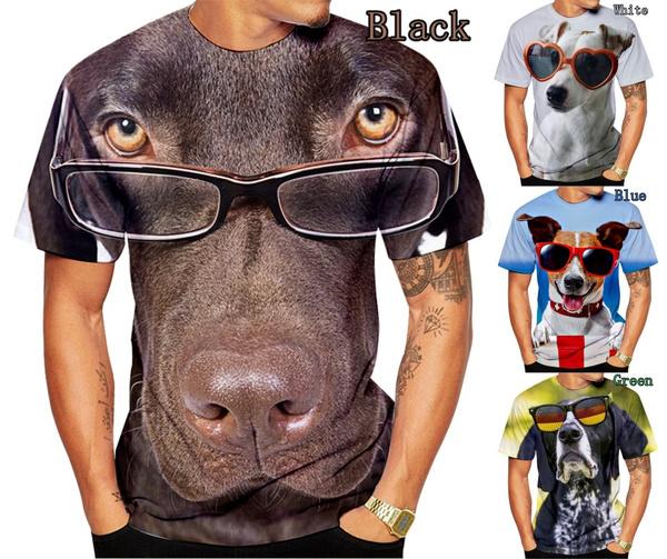 Summer, Plus Size, Men's Fashion, animaltshirt