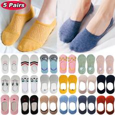 Summer, boatsock, Cotton Socks, socksforgirl