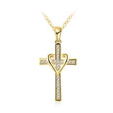 Love, Cross necklace, Cross Pendant, Classics