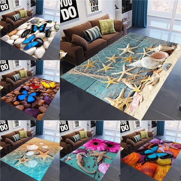 butterfly, doormat, living room, Home Decor